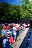 Reflections, Vietnam Memorial, Washington DC