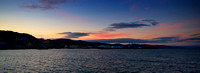Wellington Sunset from TePapa Wharf