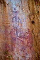 Aboriginal Rock Art, Katherine Gorge, NZ