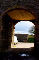 Old archway into the courtyard, Riddell Estate