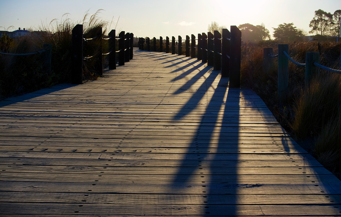 Boardwalk, Caroline Bay, Timaru
